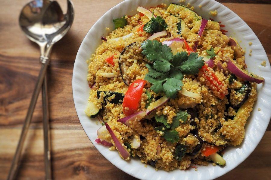 Barley & Quinoa Salad